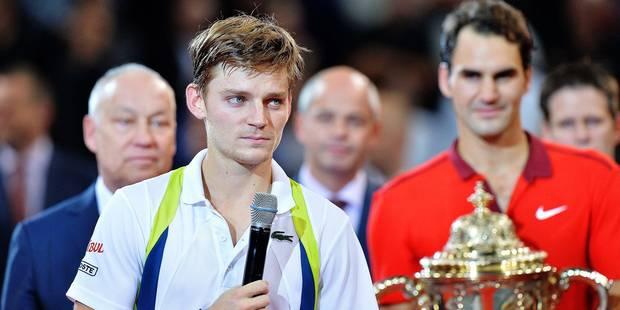 """Goffin: """"Federer était injouable"""" - La DH"""