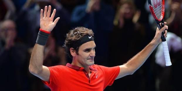 Masters: Roger Federer en finale au bout du suspens - La DH