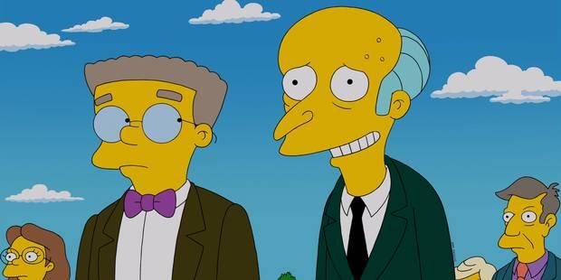 Les Simpson: voici pourquoi Mr Smithers a changé de couleur - La DH