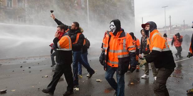 Manifestation à Bruxelles: les dockers interpellés ce matin - La DH