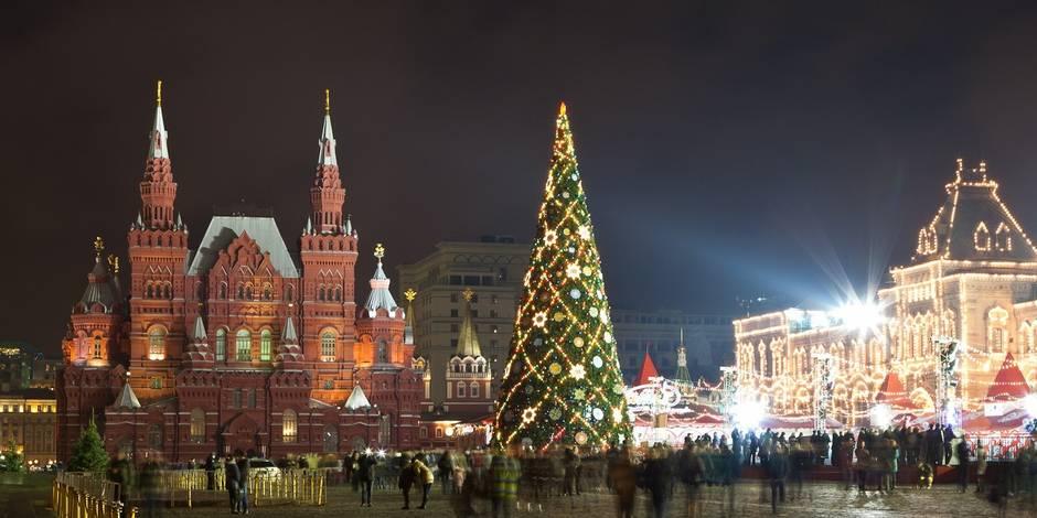 comment des sapins de no l ardennais ont d barqu au kremlin la dh. Black Bedroom Furniture Sets. Home Design Ideas