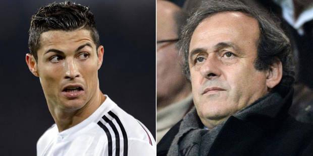 Ballon d'Or: le Real Madrid critique Platini et défend Cristiano Ronaldo