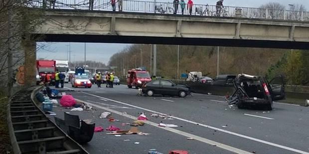 Carnage sur l'E40: plusieurs blessés, dont un grave - La DH