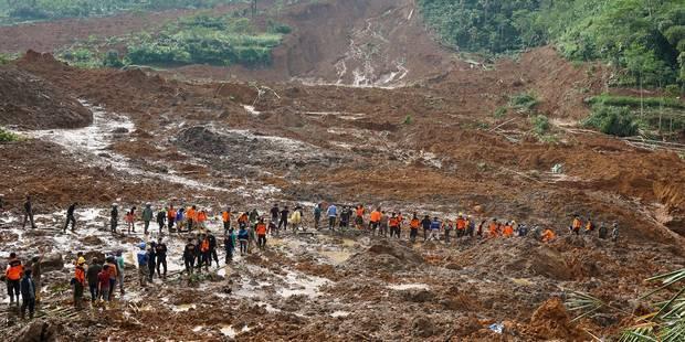 Glissement de terrain en Indonésie: 20 morts et 88 disparus - La DH
