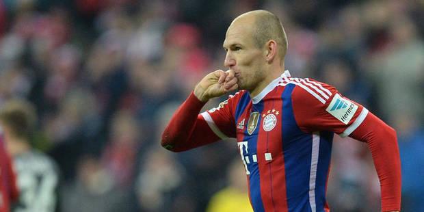 Robben, le centenaire du Bayern - La DH