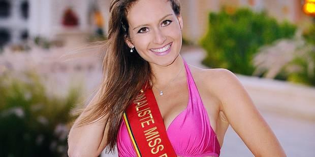 Élodie Daubresse: après le concours des plus beaux bébés, celui de Miss Belgique - La DH