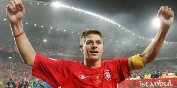 """Steven Gerrard quittera Liverpool en fin de saison: """"La décision la plus difficile de toute ma vie"""" - La DH"""