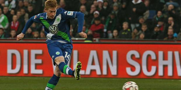 De Bruyne, meilleur m�dian offensif de la Bundesliga selon Kicker