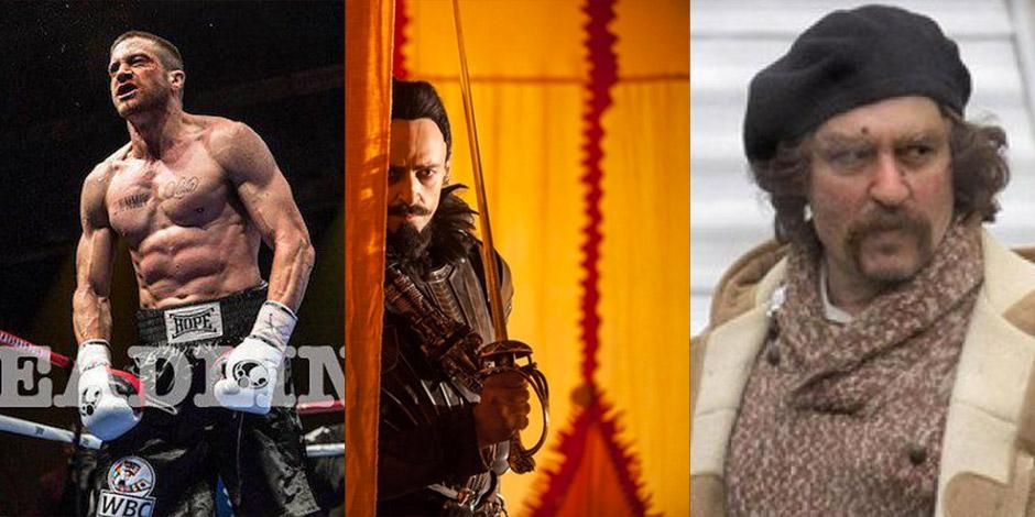 Quels acteurs se cachent derrière ces trois visages en 2015?