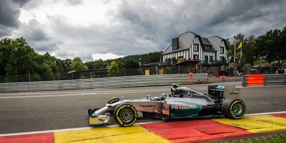 Francorchamps accueillera la F1 jusqu'en 2018