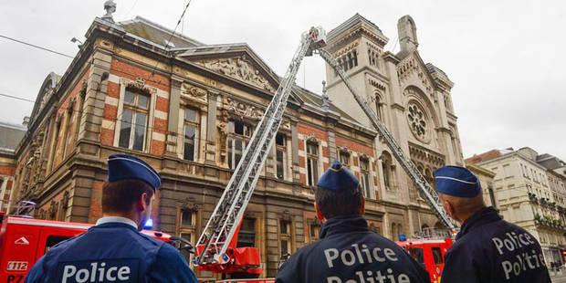 Bruxelles: incendie au Conservatoire royal, une enquête ouverte - La DH
