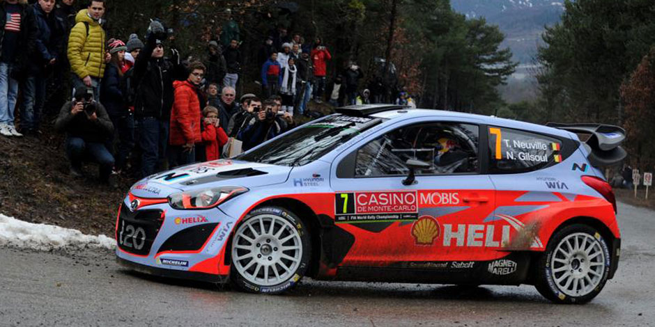 Rallye Monte-Carlo: Neuville 9e du shakedown dominé par Loeb