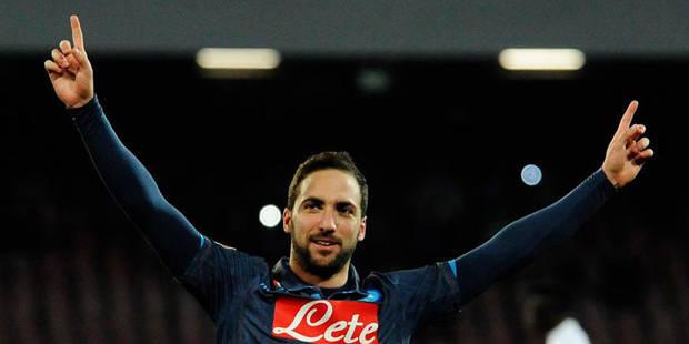 Serie A: Naples, sans Mertens, reprend sa troisième place