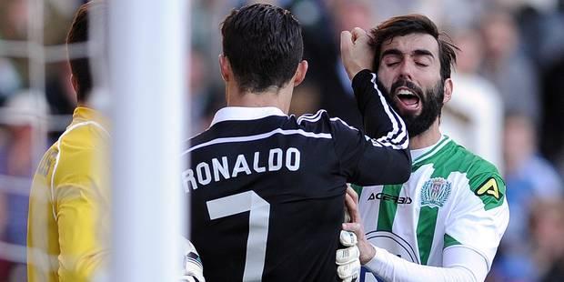 Deux matchs de suspension (seulement) pour Cristiano Ronaldo - La DH