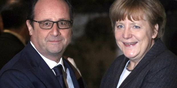 La rencontre discr�te entre Hollande et Merkel dans un resto