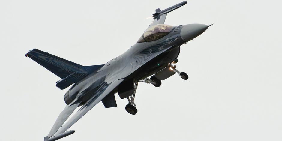"""Remplacement des F-16: Ecolo """"effaré"""" par les propos de M. De Crem"""
