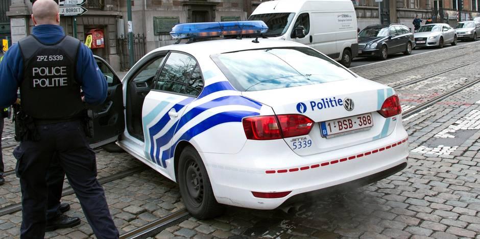 Bruxelles: la police locale interpelle deux cambrioleurs de commerce présumés