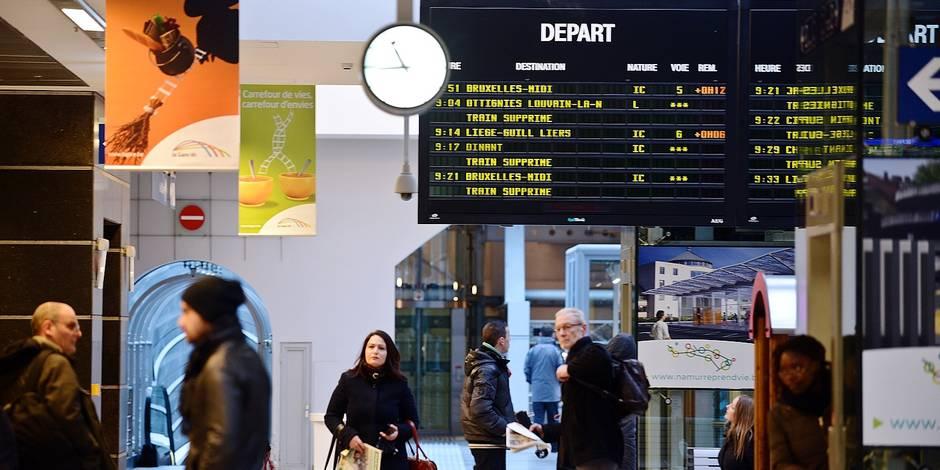 9 navetteurs sur 10 recalent le nouveau plan de la SNCB - La DH