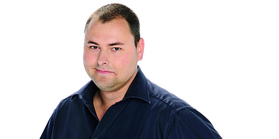 Benjamin Maréchal prépare son émission télé - La DH