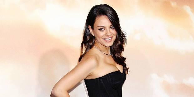 Mila Kunis se plaint de ses (trop) gros seins - La DH