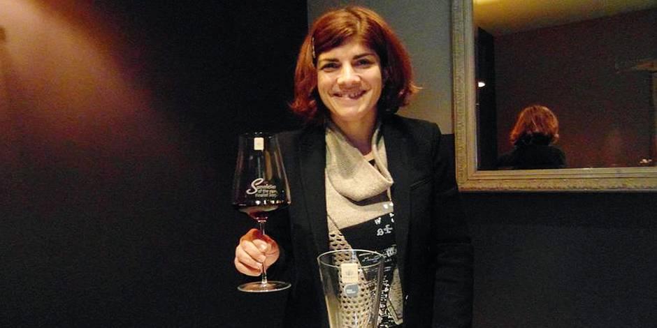 Nadia, première femme du vin en Hainaut - La DH