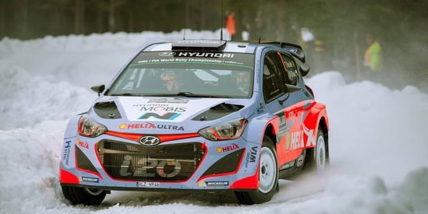 Rallye de Suède: Thierry Neuville 5e - La DH
