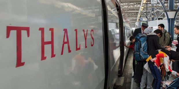 Fin du Thalys flamand le 1er avril, décision lundi pour le Thalys wallon - La DH