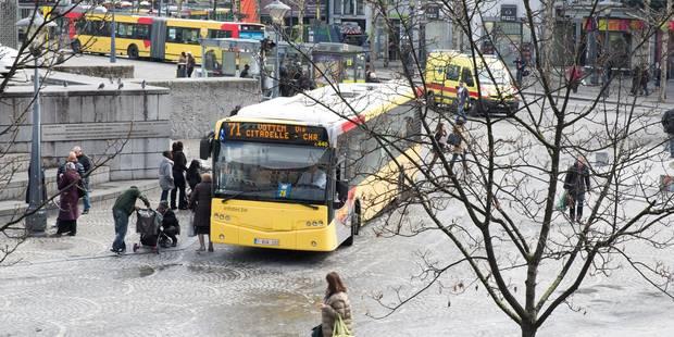 Liège: une centaine de jeunes interpellés dans des bus du TEC - La DH