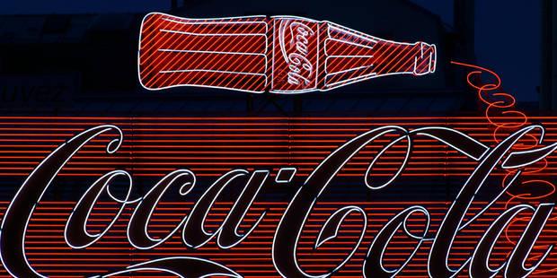 Concours et erreur: la bouteille de Coca fête son centenaire - La DH