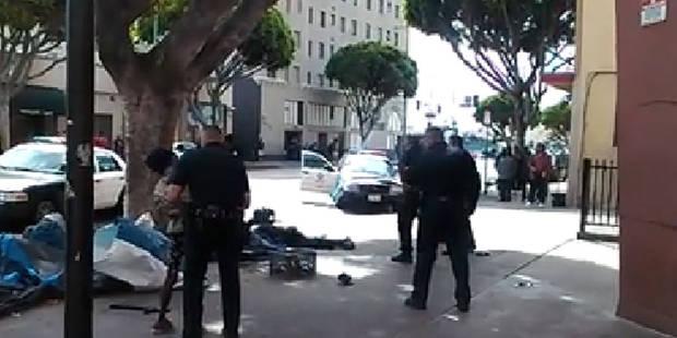 Los Angeles: des policiers abattent froidement un sans-abri (VIDEO) - La DH