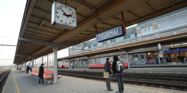 Circulation ferroviaire interrompue entre Tournai et Mouscron