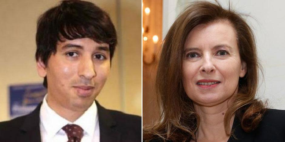 Valérie Trierweiler gifle le client d'un café: il s'agissait d'un ex-candidat UMP