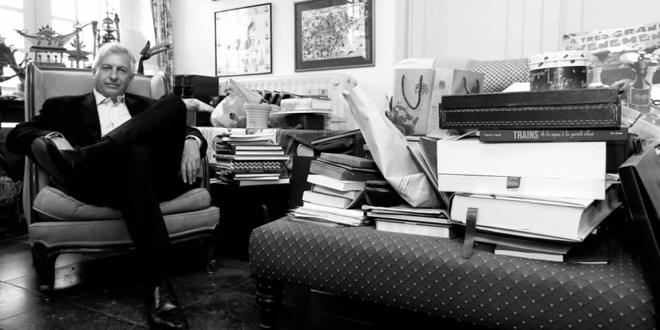"""Dans le bureau du patron de Pairi Daiza: """"Mon bordel n'affecte pas mon activité"""""""