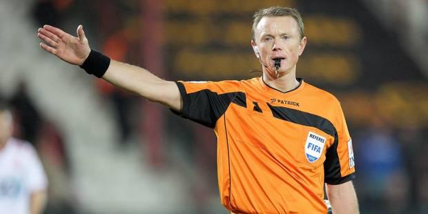 Serge Gumienny arbitrera la finale de la Coupe entre Anderlecht et le FC Bruges - La DH