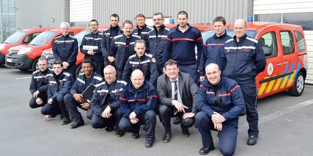 Douze nouveaux v�hicules pour les pompiers de Tournai