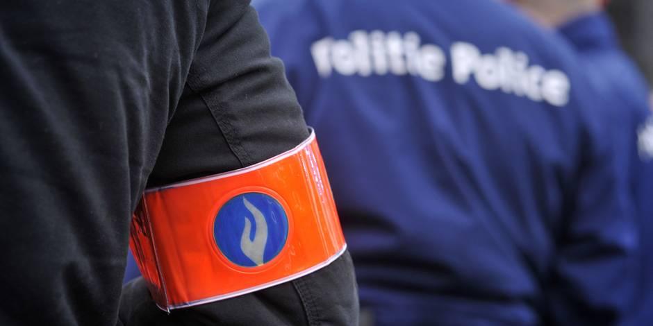 Charleroi: un ado blessé par balle par un policier lors d'une course-poursuite