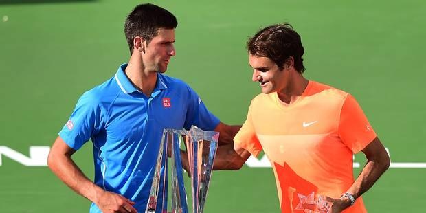 Finale spectaculaire à Indian Wells: Djokovic vient à bout de Federer - La DH