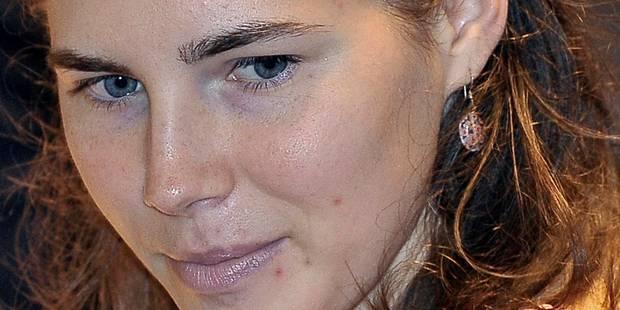 """Amanda Knox """"extrêmement soulagée"""" par son acquittement en Italie - La DH"""