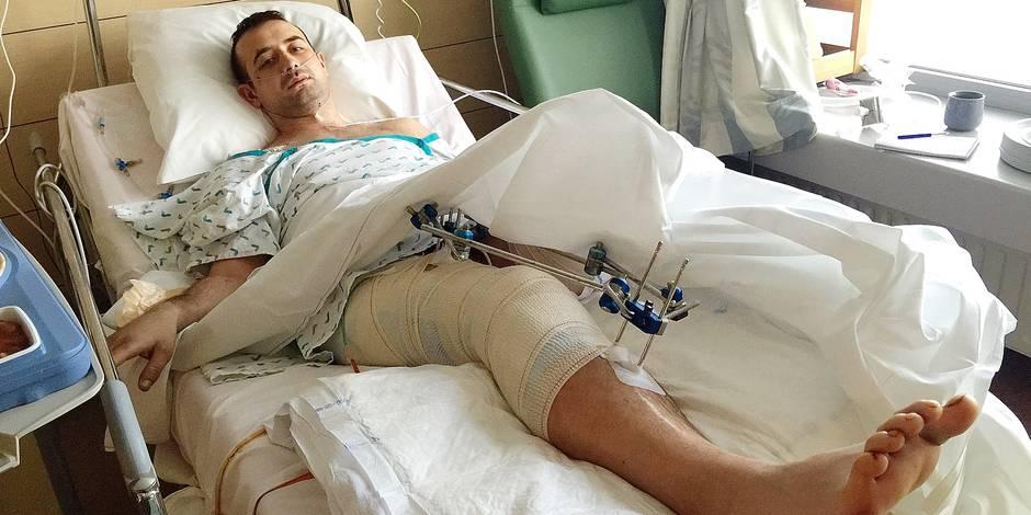 Un chauffard lui a arraché la jambe - La DH
