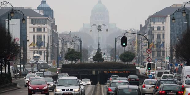 La moitié des Bruxellois souffre de la pollution - La DH