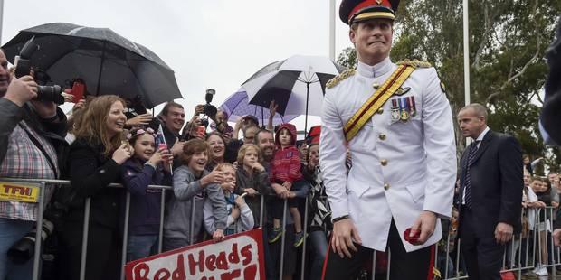 """Le prince Harry """"déteste"""" les selfies, mais aime les rouquins - La DH"""