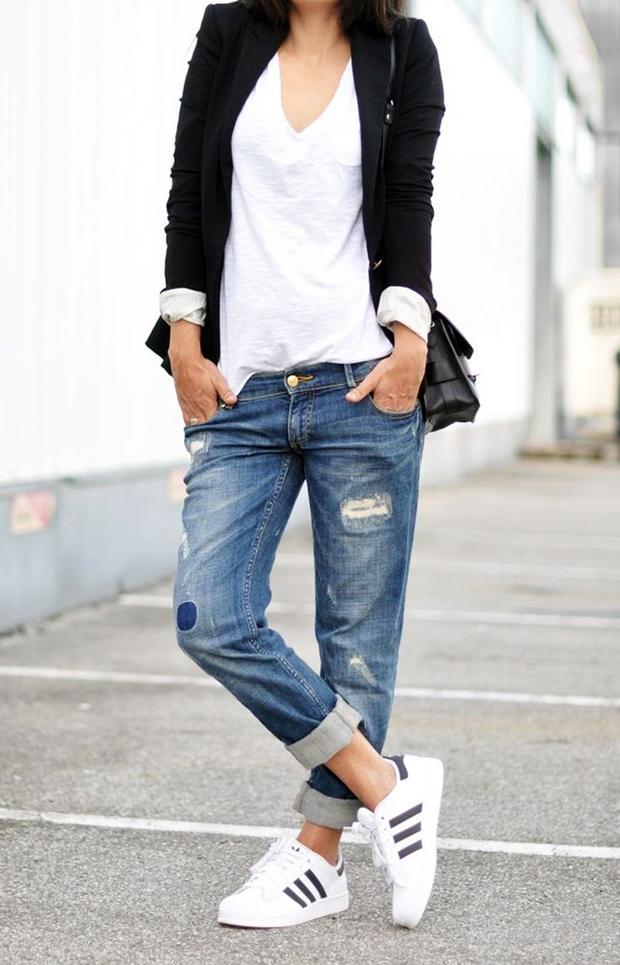 Adidas Stan Smith Femme Portées