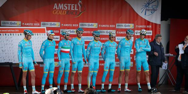 Astana conserve sa licence World Tour - La DH