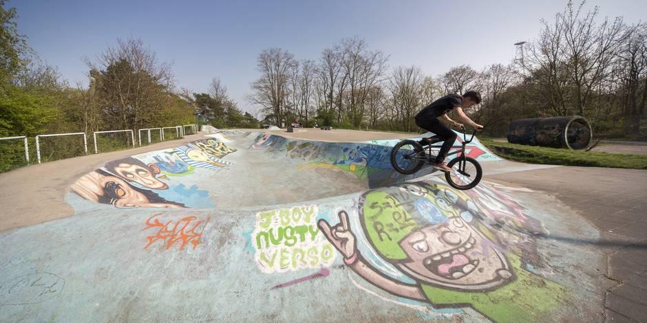 Skatepark géant à Cointe