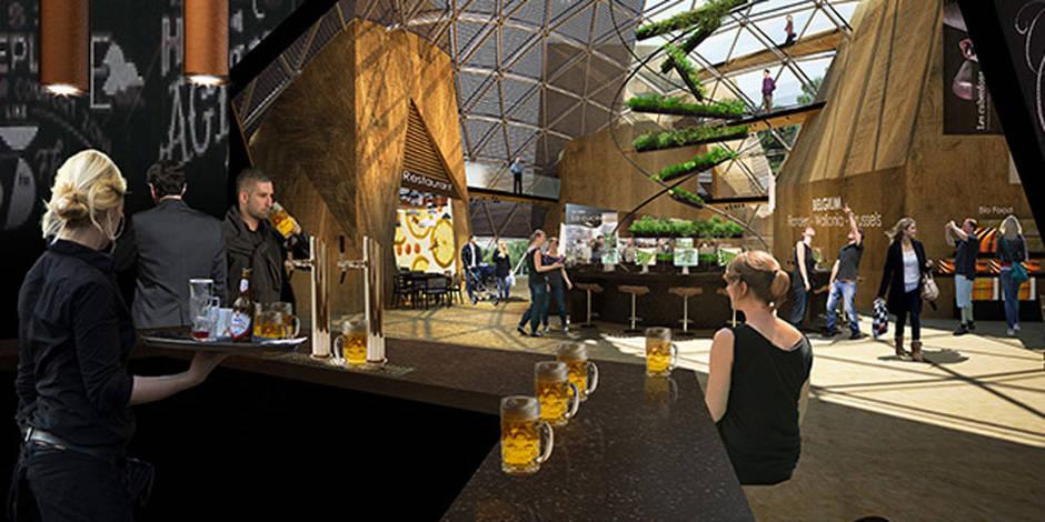 La bière, star du pavillon belge à Milan 2015
