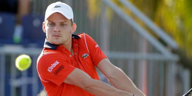 ATP Munich: David Goffin en quart de finale