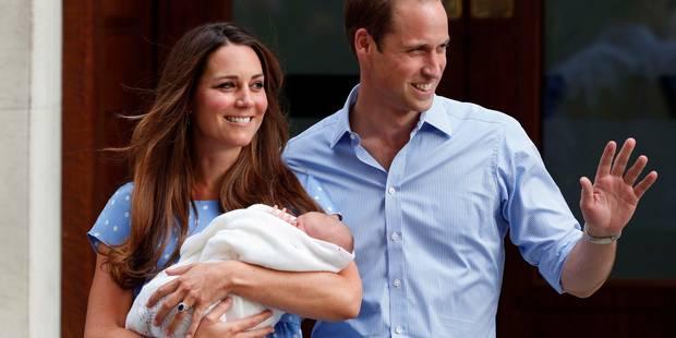 Kate Middleton a donn� naissance � une petite fille