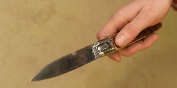 Un jeune homme tabassé par quatre individus après avoir sorti un couteau à Namur - La DH