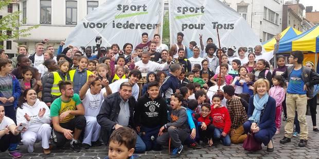 """""""L'offre sportive est déficiente à Bruxelles !"""" - La DH"""