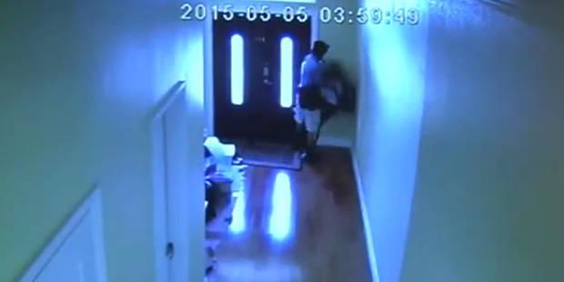 Il tente de violer une ado chez elle, les caméras de surveillance le rattrapent (Vidéo) - La DH